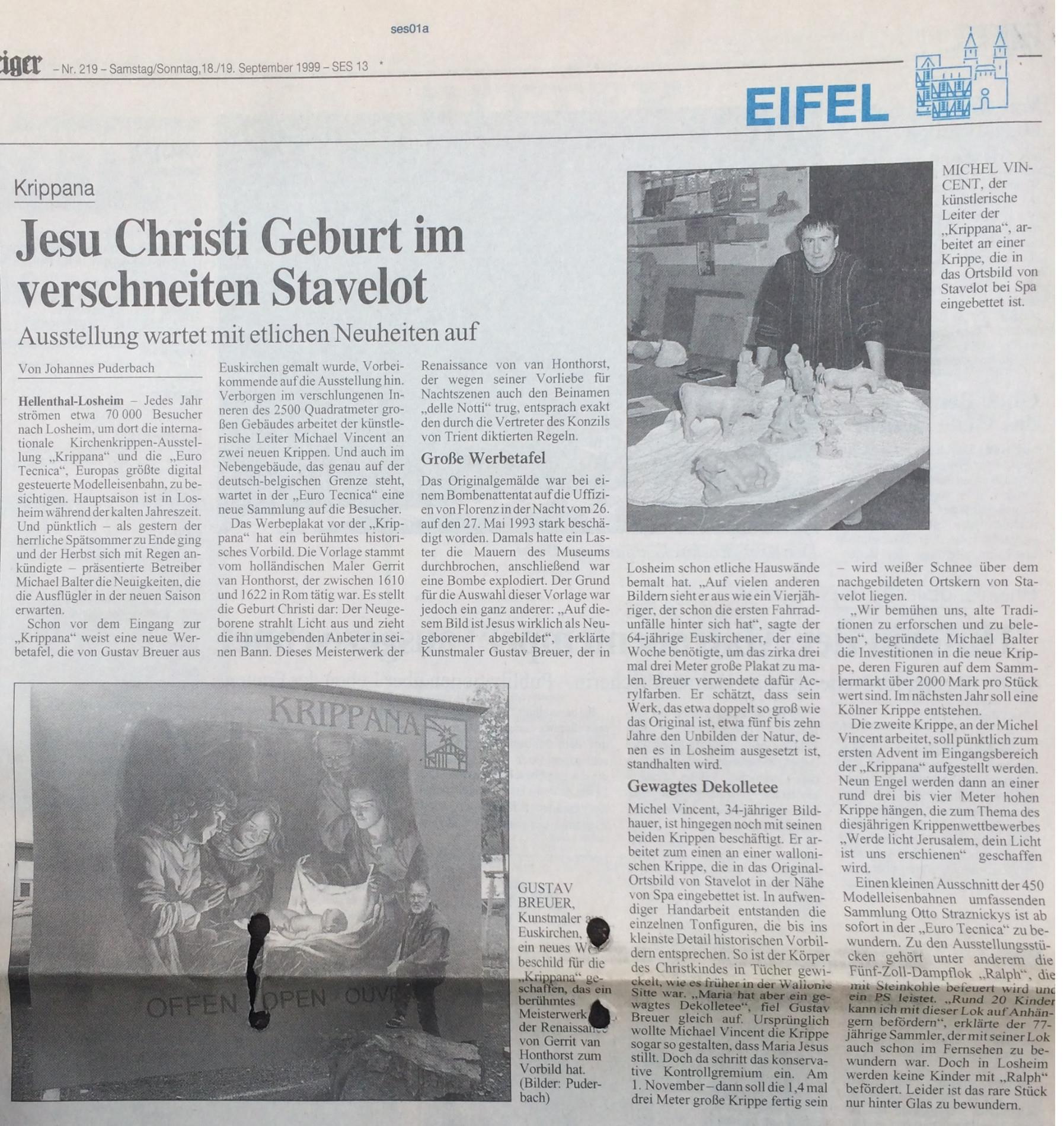 In the german Press - In the German Press - Ars Krippana
