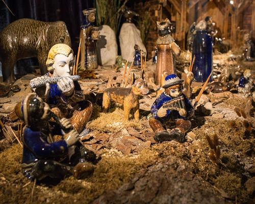 The origin of the nativity scene